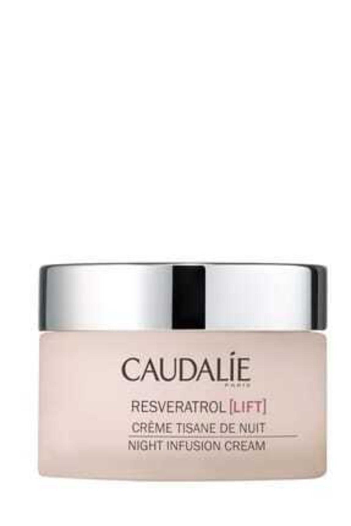 Caudalie Resveratrol Night Infusion Cream 50 ml - Sıkılaştırıcı Etkili Gece Bakım Kremi 1