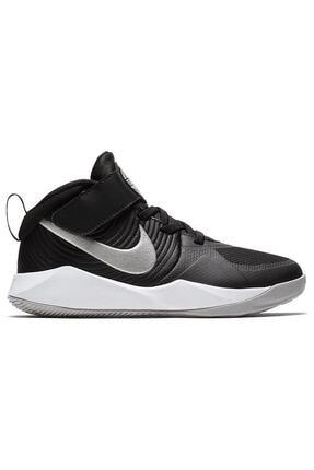 Nike Kids Siyah Team Hustle D 9 Çocuk Basketbol Ayakkabısı