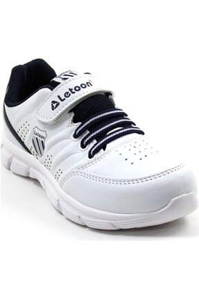 LETOON 2336 Beyaz Renk Çocuk Spor Ayakkabı