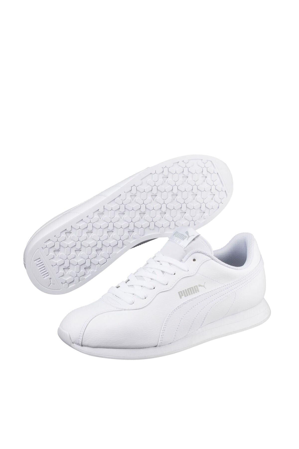 Puma TURIN II Beyaz Erkek Sneaker Ayakkabı 100352193 1
