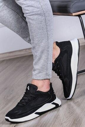 Madmext Erkek Siyah Yüksek Taban Sneaker
