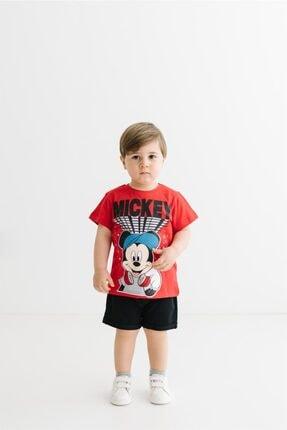 Mickey Mouse Erkek Çocuk Lisanslı Tişört 17285