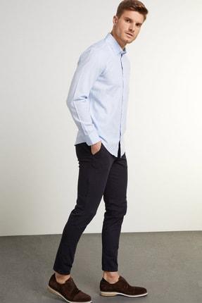 Network Erkek Slim Fit Lacivert Casual Pantolon 1079176