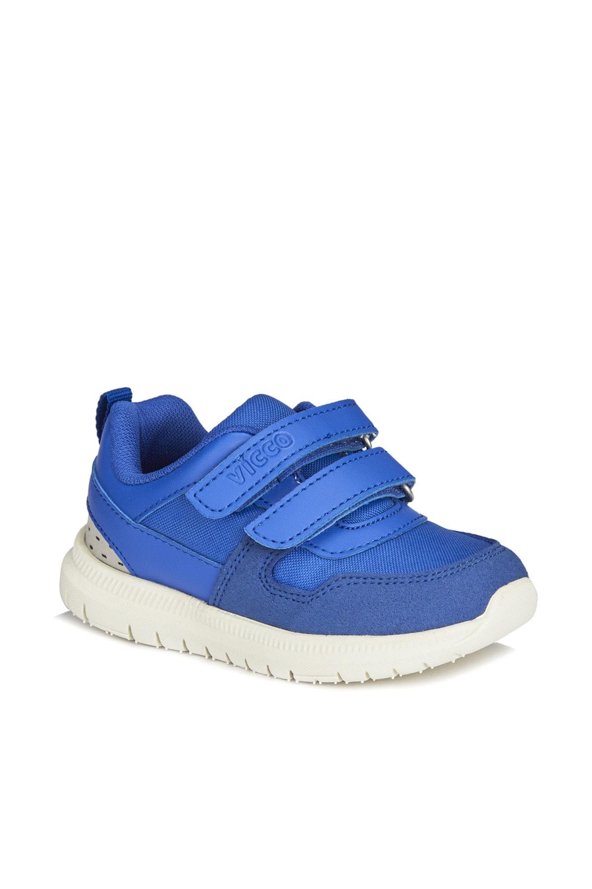 Vicco Solo Hafif Erkek Bebe Saks Mavi Spor Ayakkabı 1
