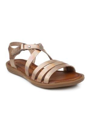 Vicco Kız Çocuk Fuşya Witty Filet Deri Sandalet 905.f21y.069