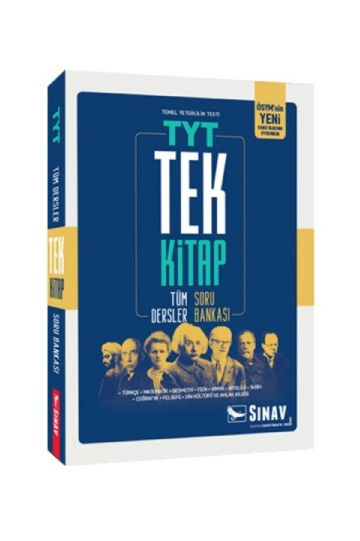 Sınav Yayınları 2021 Tyt Tüm Dersler Soru Bankası Tek Kitap 1