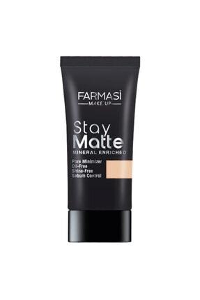Farmasi Make Up Stay Matte Fondöten 30 ml Lıght Ivory 01