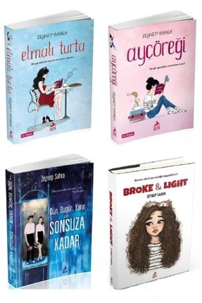 Ren Kitap Zeynep Sahra Elmalı Turta Seti 4 Kitap Set