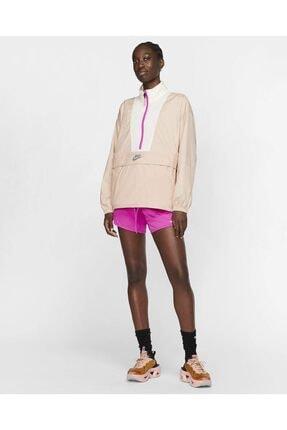 Nike Sportswear Icon Clash Kadın Pudra Half Zip Ceket Yağmurluk