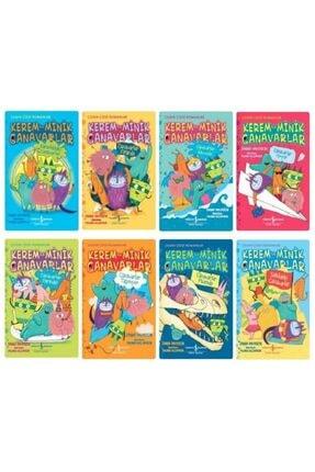 İş Bankası Kültür Yayınları Kerem Ile Minik Canavarlar Çizgi Roman Serisi 8 Kitap