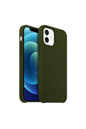 Buff Iphone 12 Mini Rubber Fit Kılıf Yeşil