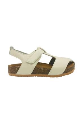 Minican Ortopedik Mantar Taban Ve Içi Hakiki Deri Sandalet - Onur Ortopedik