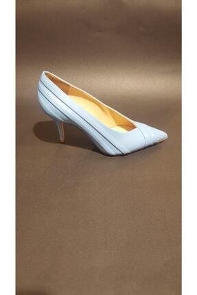 Rivaldi Kadın Turkuaz Topuklu Ayakkabı