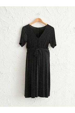 LC Waikiki Kadın Yeni Siyah Elbise 0WBN23Z8