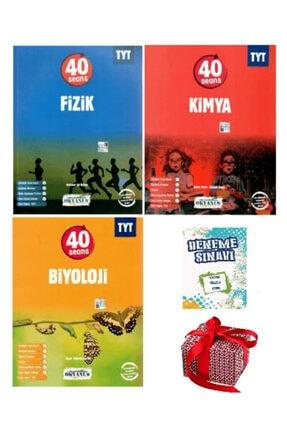 Okyanus Yayınları 2021 Tyt 40 Seansta Fizik Kimya Biyoloji Soru Bankası Seti