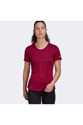 adidas RUN IT TEE W Bordo Kadın T-Shirt 101118109