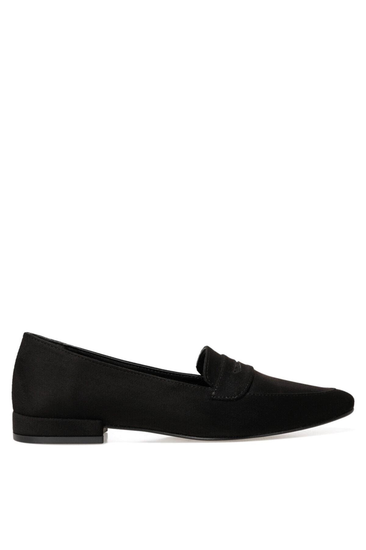 İnci NELA2 Siyah Kadın Loafer Ayakkabı 101025957 1