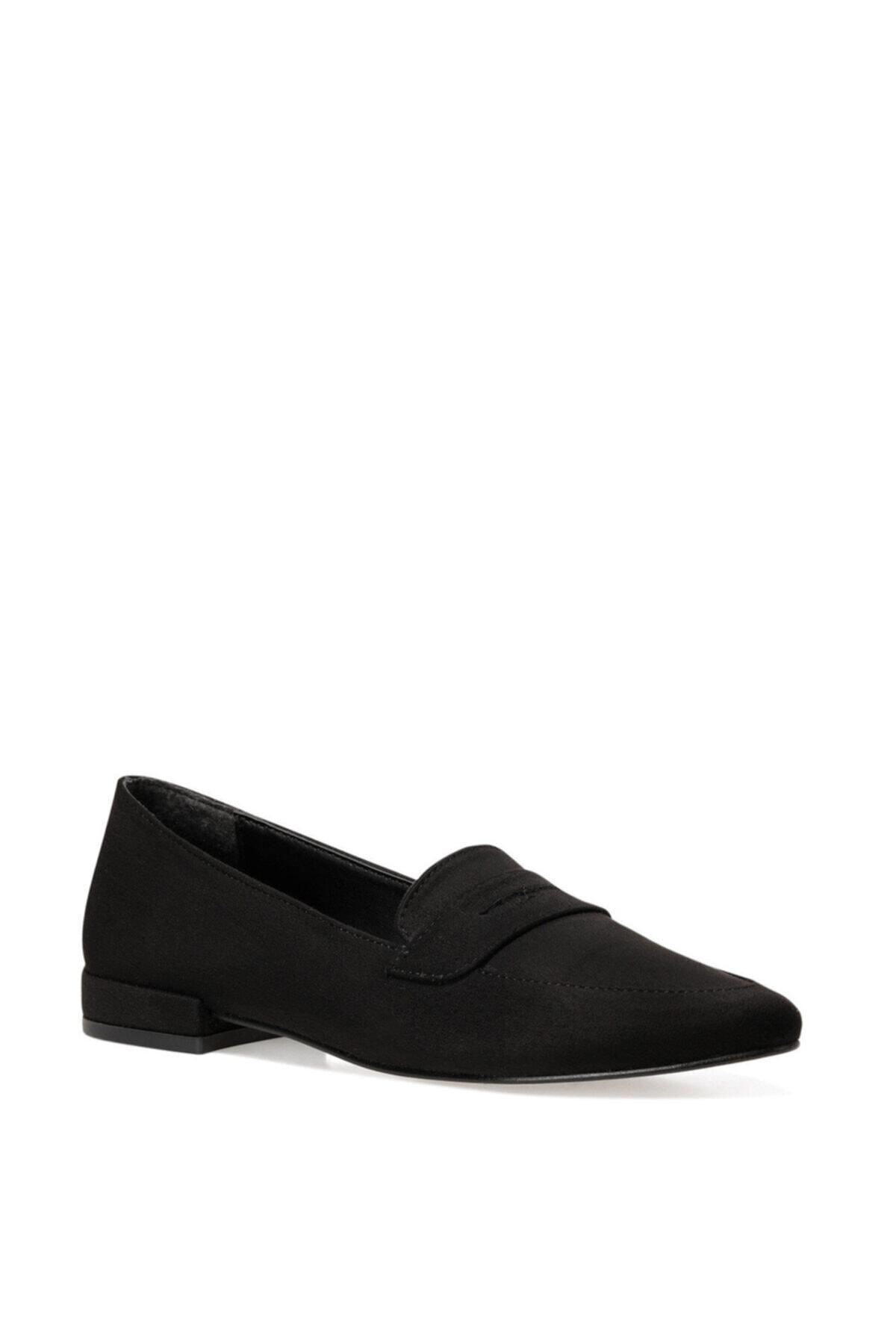 İnci NELA2 Siyah Kadın Loafer Ayakkabı 101025957 2