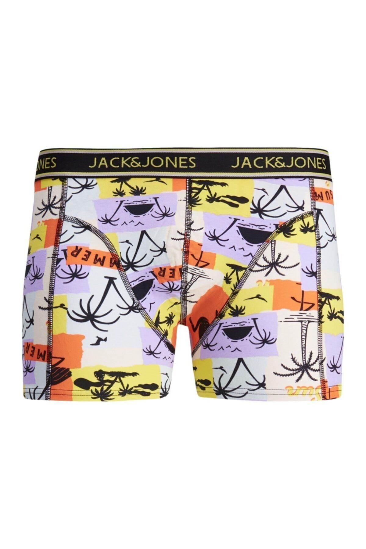 Jack & Jones Erkek Mor Lavender Boxer 12185405 1