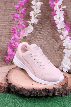 Kinetix Unisex Pembe Günlük Sneaker Yürüyüş Spor Ayakkabı