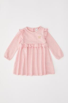 DeFacto Kız Bebek Nakış Işleme Elbise