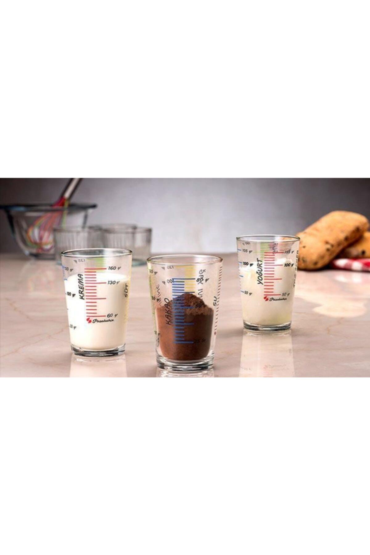 Kitchen Life 3'lü Ölçü Bardağı Seti 2