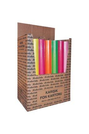 KESKİN COLOR Renkli Fon Kartonu 50*70 110gr 10lu