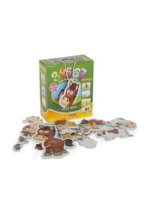 DIY Toys Dıy-toy Çiftlik Puzzle 8018