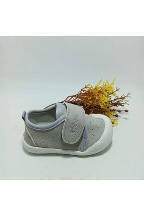 Vicco Unisex Bebek Gri İlk Adım Ayakkabı 950.e19k.224