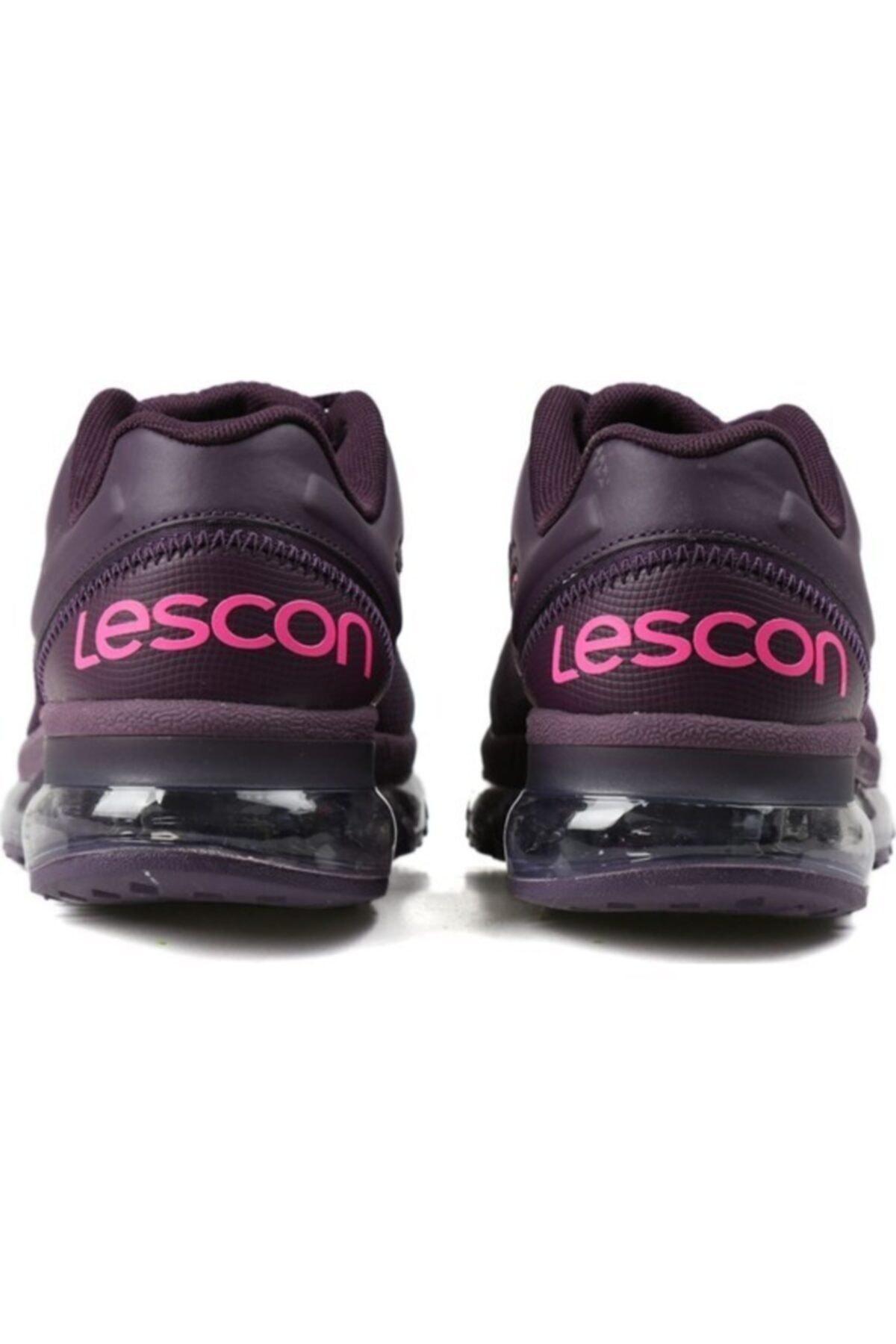 Lescon Kadın Mürdüm Airtube Spor Ayakkabı L-4603 2