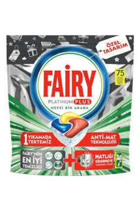 Fairy Platinum Plus Tablet Deterjanı 75 Tablet