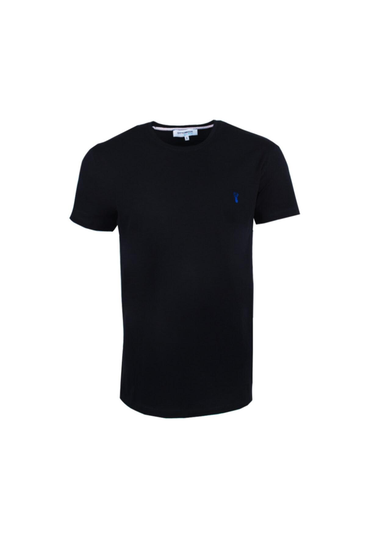 Ottomoda Erkek T-shirt Lacivert 1