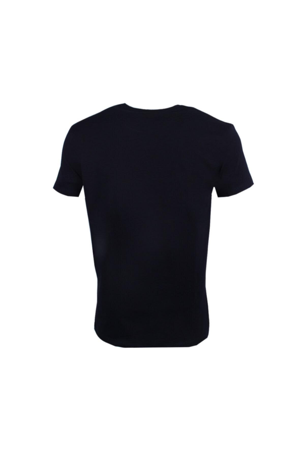 Ottomoda Erkek T-shirt Lacivert 2
