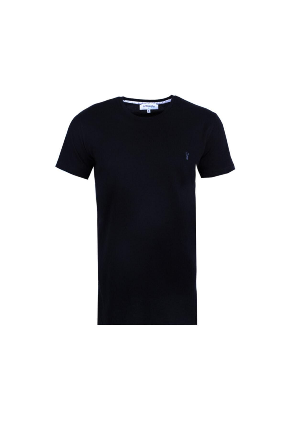 Ottomoda Erkek T-shirt Siyah 1