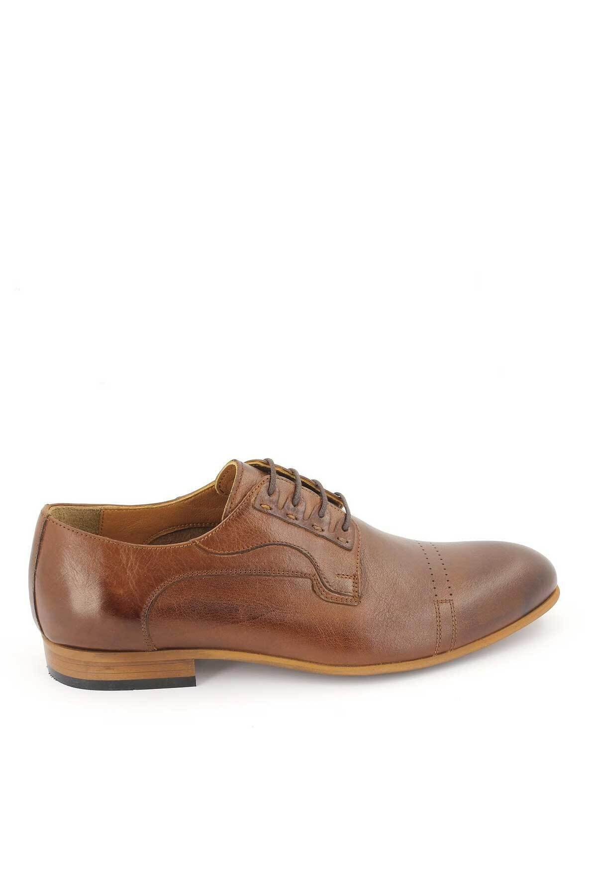 Venüs Erkek Taba Hakiki Deri Klasik Ayakkabı 2