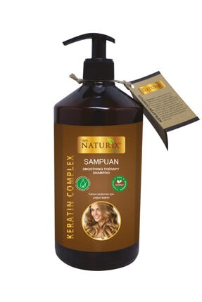 Naturix Tüm Saç Tipleri Için Doğal Keratin Bakımı 600 ml Saç Bakım Şampuanı