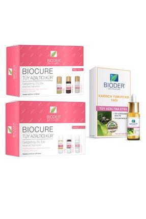 Bioder Bio Epilation Tüy Azaltıcı Karınca Yumurtası Yağı 30 Ml+vücut Serum 3x10ml+yüz Serum 3x5ml