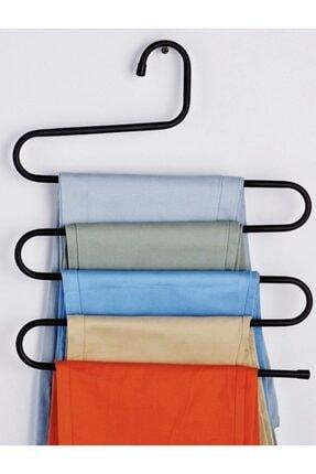 CAROLİNA 5 Katlı Metal Pantolon Eşarp Askısı