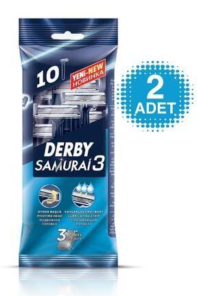 Derby Samurai 3 Bıçaklı 10'lu Poşet