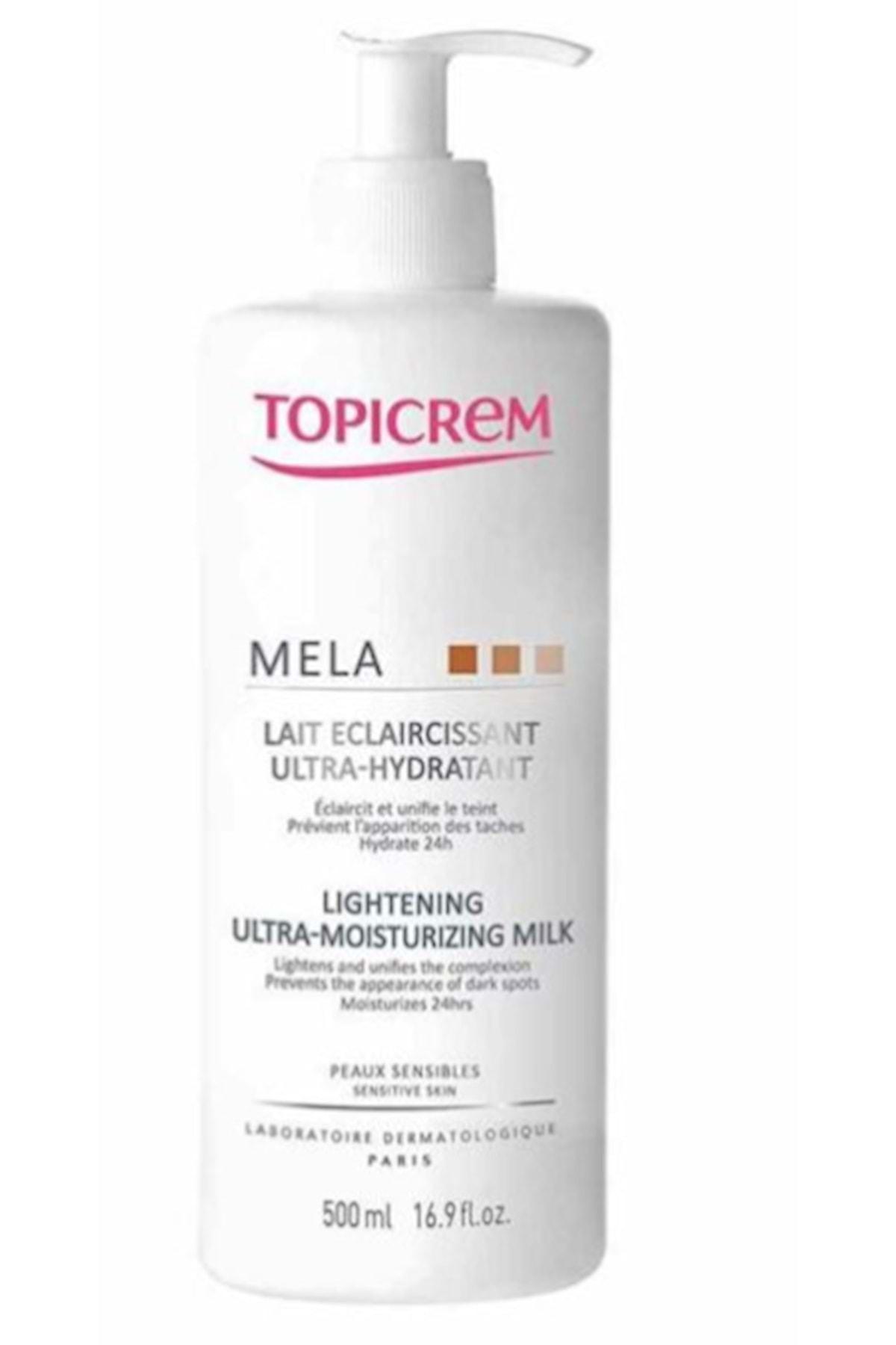 Topicrem Mela Lightening Ultra-moisturizing Milk 500 Ml 1