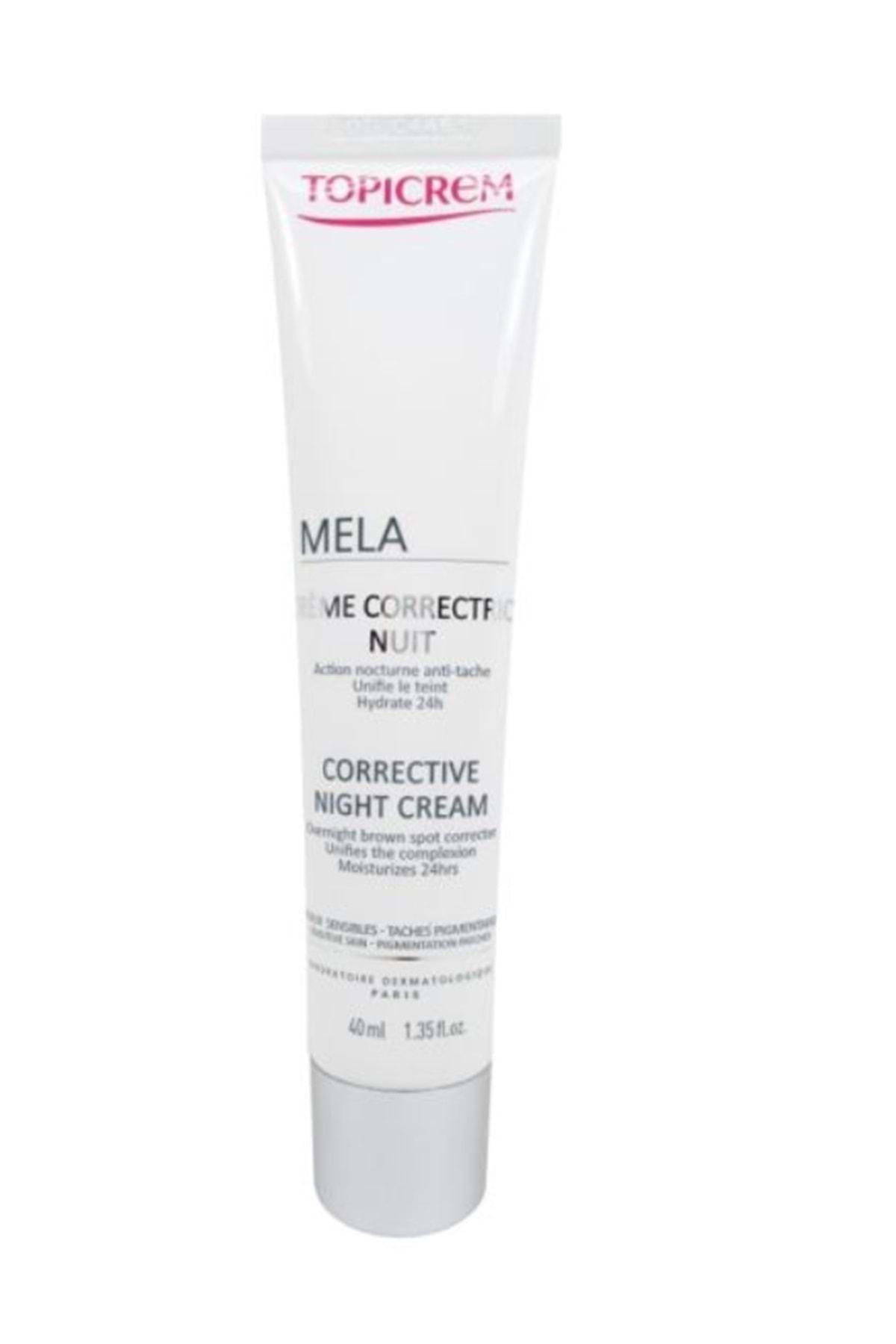 Topicrem Mela Corrective Night Cream 40ml 1