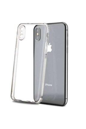 KAPAKCIMIZ Iphone Xsmax Uyumlu Kılıf Tıpalı Kamera Korumalı Şeffaf Silikon Kapak