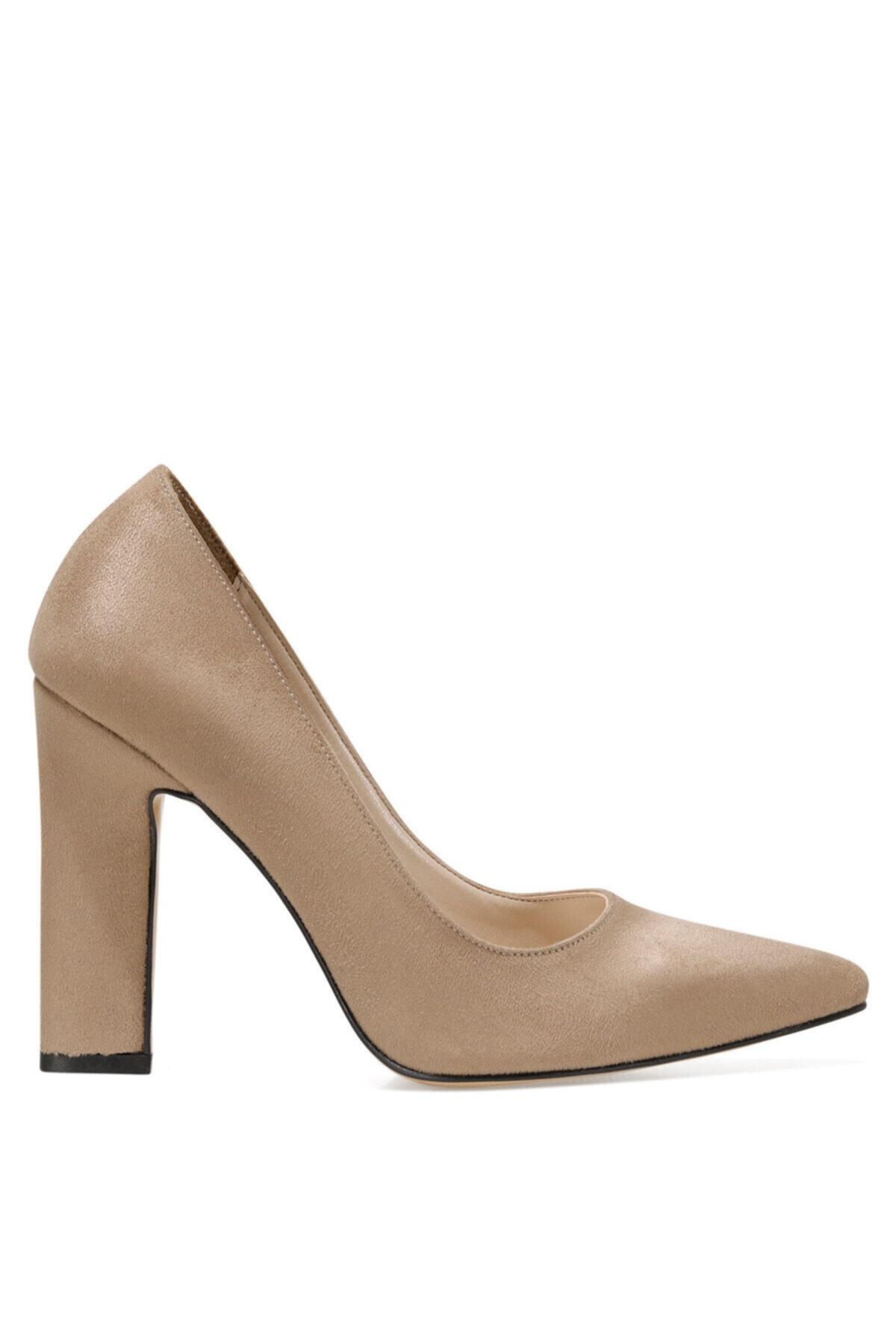 Nine West Flamur Vizon Kadın Topuklu Sandalet 1