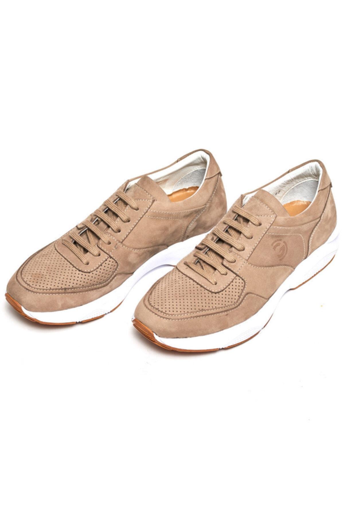 Giovane Gentile Erkek Haki Renk Bağcıklı Ayakkabı 2