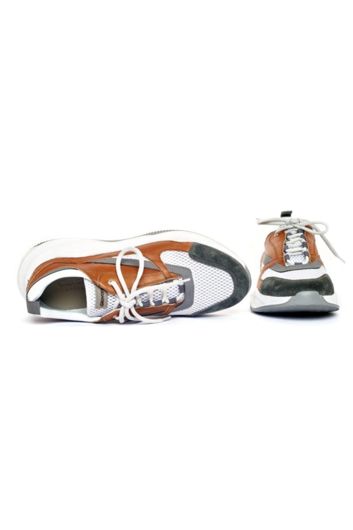 Giovane Gentile Erkek Hardal Renk Bağcıklı Ayakkabı 2