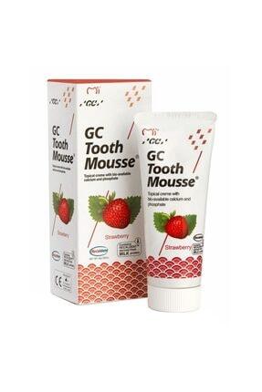 GC Tooth Mousse Çilek - Diş Minesi Koruyucu Kremi - Çilekli