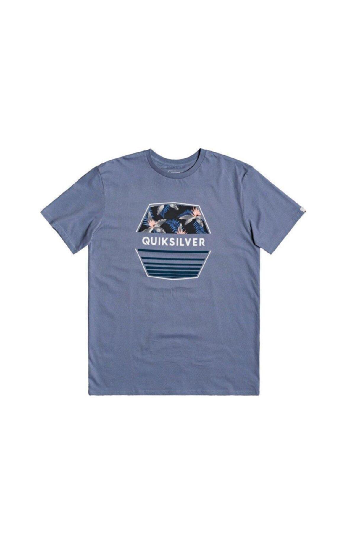 Quiksilver Erkek Mavi Drift Away Tshirt Eqyzt05765-bkj0 1