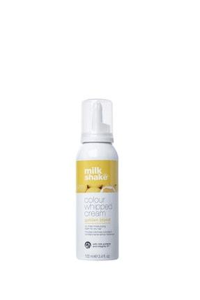 Milkshake Milk_shake Whipped Cream Durulanmayan Renkli Bakım Köpüğü Golden Blond (altın Sarısı) 100 Ml