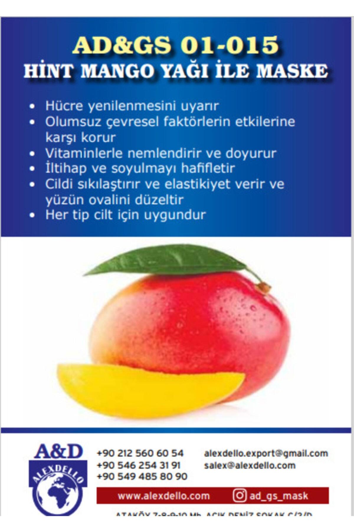 ALEXDELLO YÜZ BAKIM MASKE Hint Mango Yağı Ile Maske 1