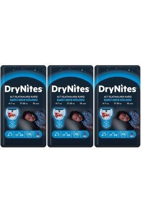 DryNites Erkek Emici Gece Külodu 4-7 Yaş 30 Adet